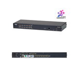 Aten KH1508Ai | 1-Local/Remote Share Access 8-Port Multi-Interface Cat 5 KVM over IP Switch - Network Warehouse