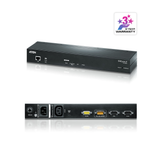 Aten KN1000A | 1-Local/Remote Share Access Single Port VGA KVM over IP Switch with Single Outlet Switched PDU (1920 x 1200) - Network Warehouse