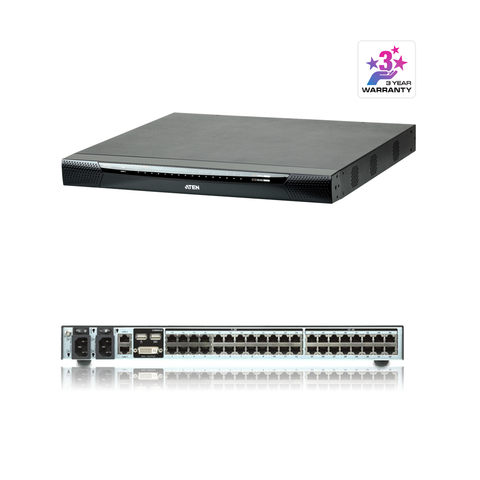 Aten KN2140VA | 1-Local/2-Remote Access 40-Port Multi-Interface Cat 5 KVM over IP Switch - Network Warehouse