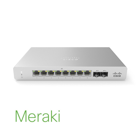 Meraki MS120 Compact Series Switches | MS120-8LP-HW