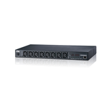 Aten PE7108G | 15A/10A 8-Outlet 1U Outlet-Metered eco PDU (C13 x 8) - Network Warehouse