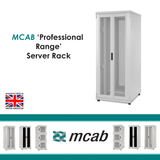 MCAB Professional Range Server Cabinet 800-1500Kg Rated (Vented Mesh Doors) - Network Warehouse