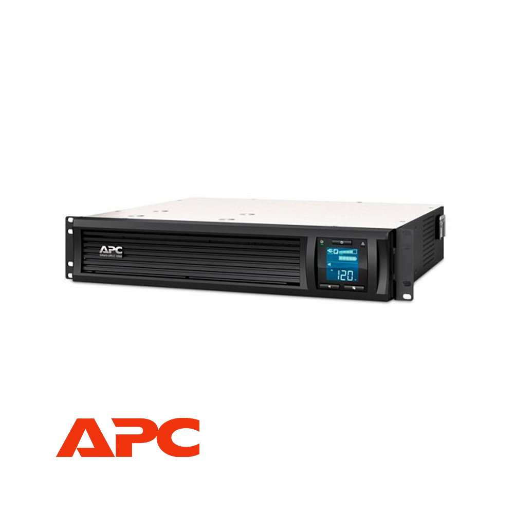 APC Smart-UPS C 1000VA LCD RM 2U 230V with SmartConnect | SMC1000I-2UC - Network Warehouse