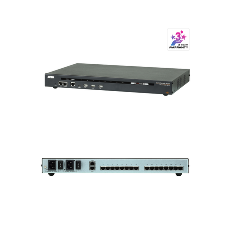 Aten SN0116CO | 16-Port Serial Console Server with Dual Power/LAN - Network Warehouse