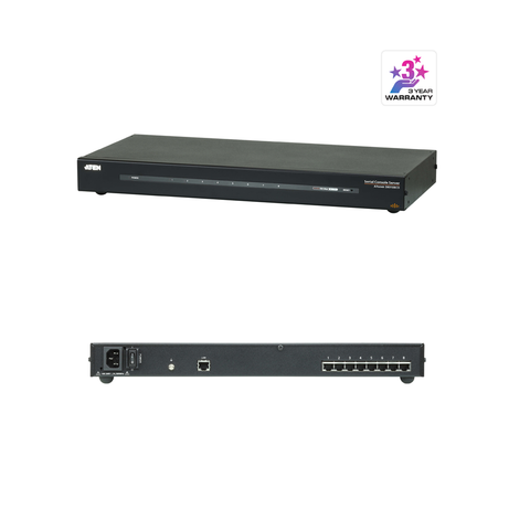 Aten SN9108CO | 8-Port Serial Console Server - Network Warehouse