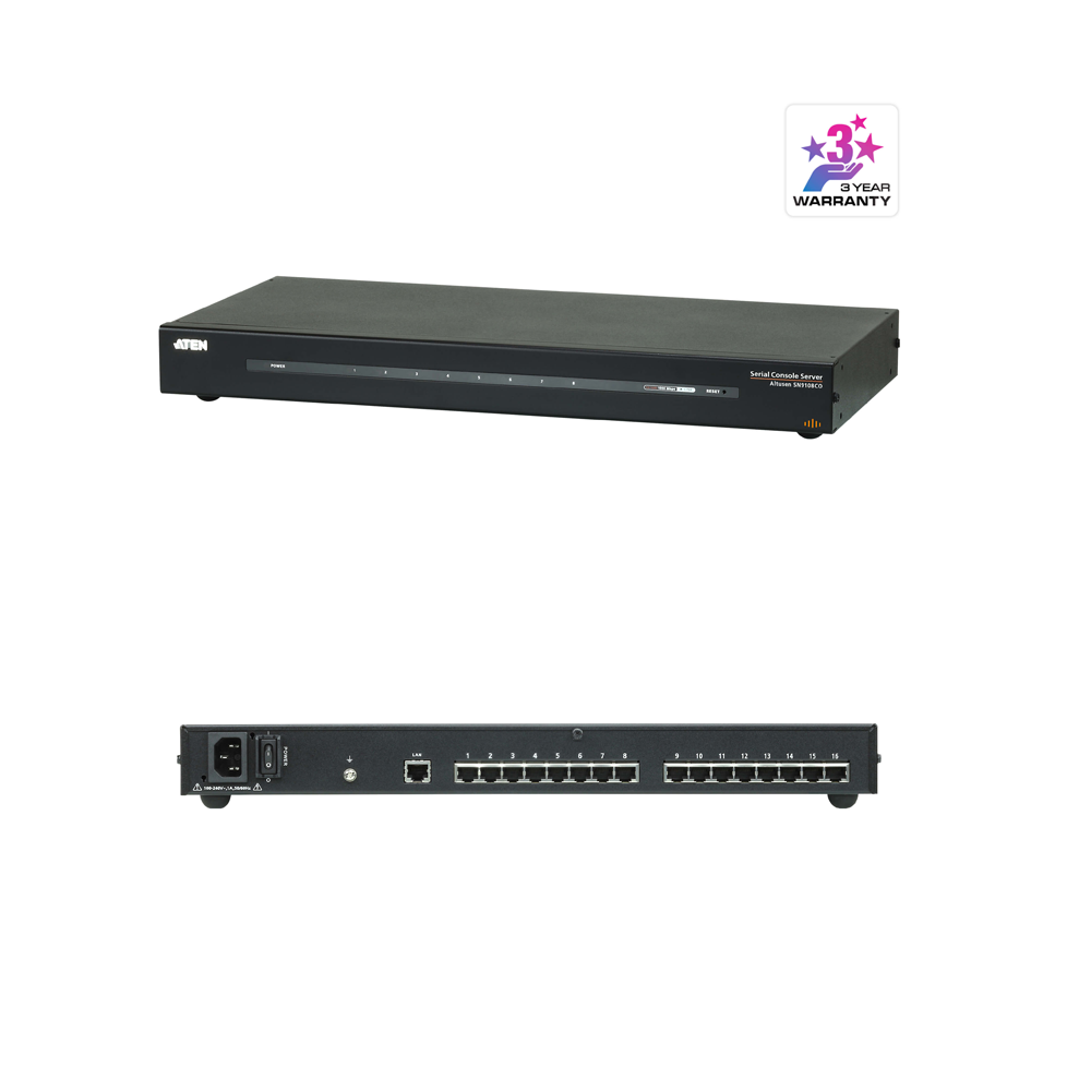 Aten SN9116CO | 16-Port Serial Console Server - Network Warehouse