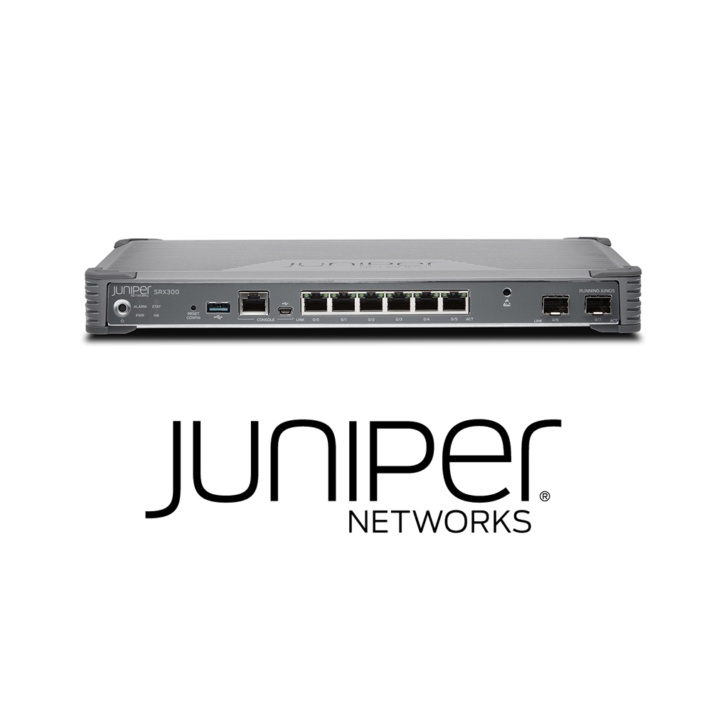Juniper SRX300 Services Gateway | 8 x GE (w 2x SFP), 4G RAM, 8G Flash (Hardware Only) - Network Warehouse