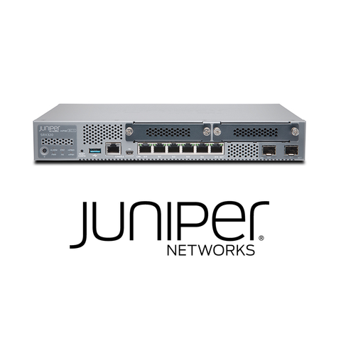 Juniper SRX320 Services Gateway | 8 x GE (w 2x SFP), 4G RAM, 8G Flash and 2x MPIM slots (Hardware Only) - Network Warehouse