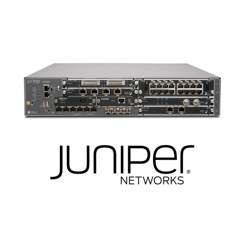 Juniper SRX550 Services Gateway | 6 GPIM Slots, 2 MPIM Slots, 6 10/100/1000Base-T Ports, 4 GE SFP Ports, dual PS Slots, fans. - Network Warehouse