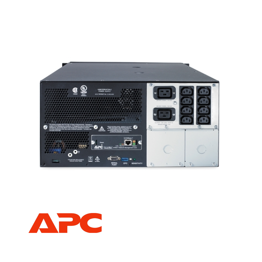 APC Smart-UPS 5000VA 230V Rackmount/Tower | SUA5000RMI5U - Network Warehouse
