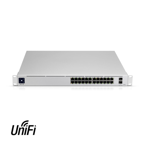 Ubiquiti UniFi 24 Port Gigabit PoE Switch | USW-24-POE - Network Warehouse