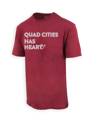 American Heart Quad Cities SS Shirt