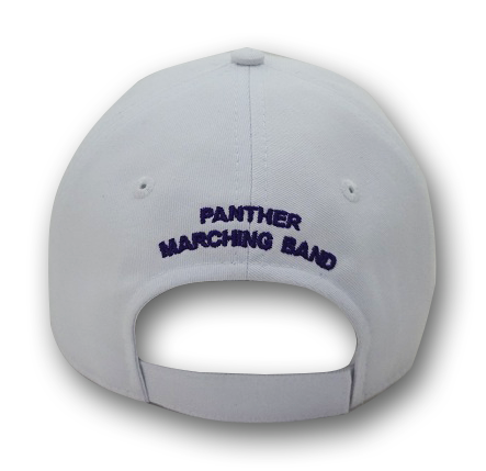 White Marching Band Cap (Uniform)