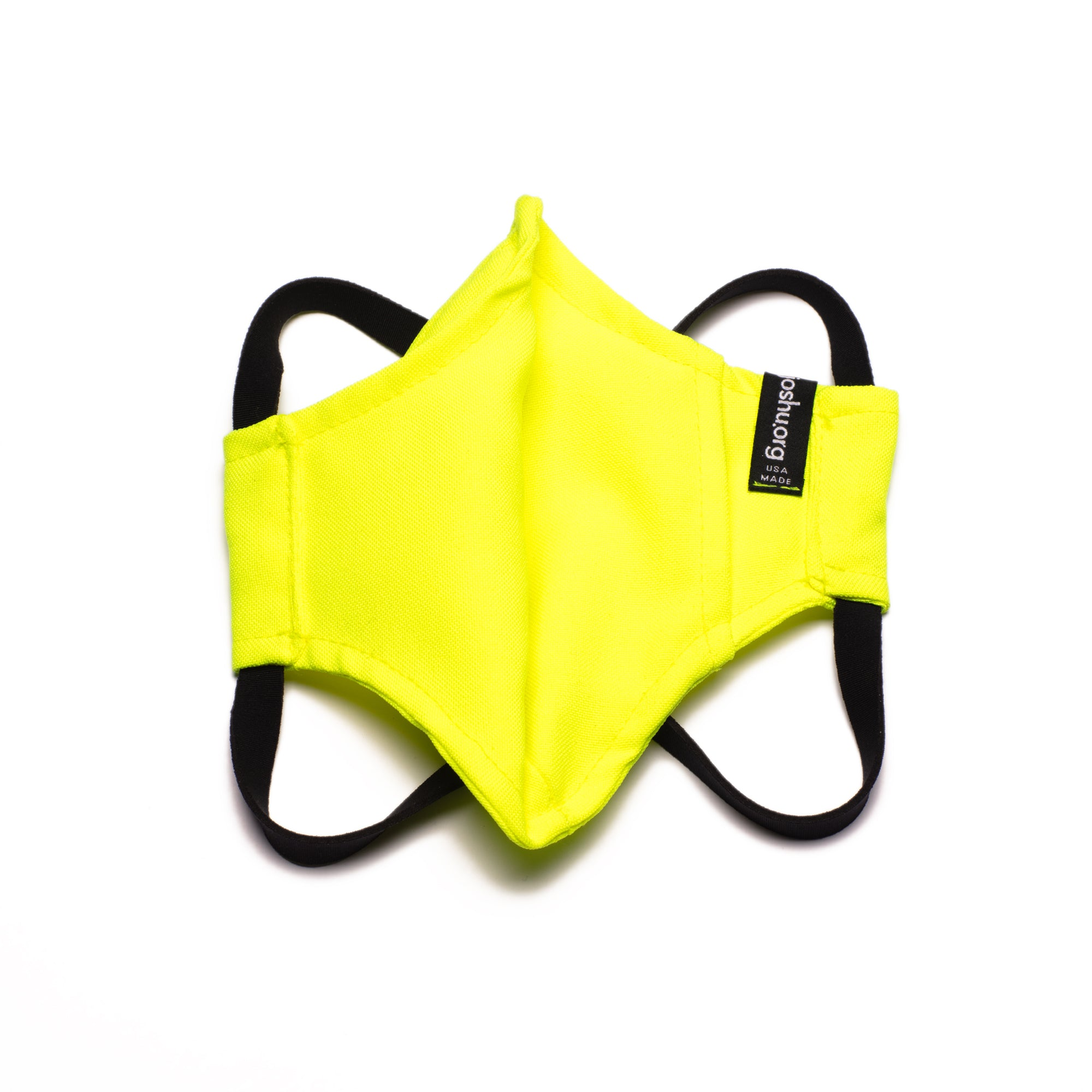 The Curve Mask - Hi-Vis Yellow w/Neoprene