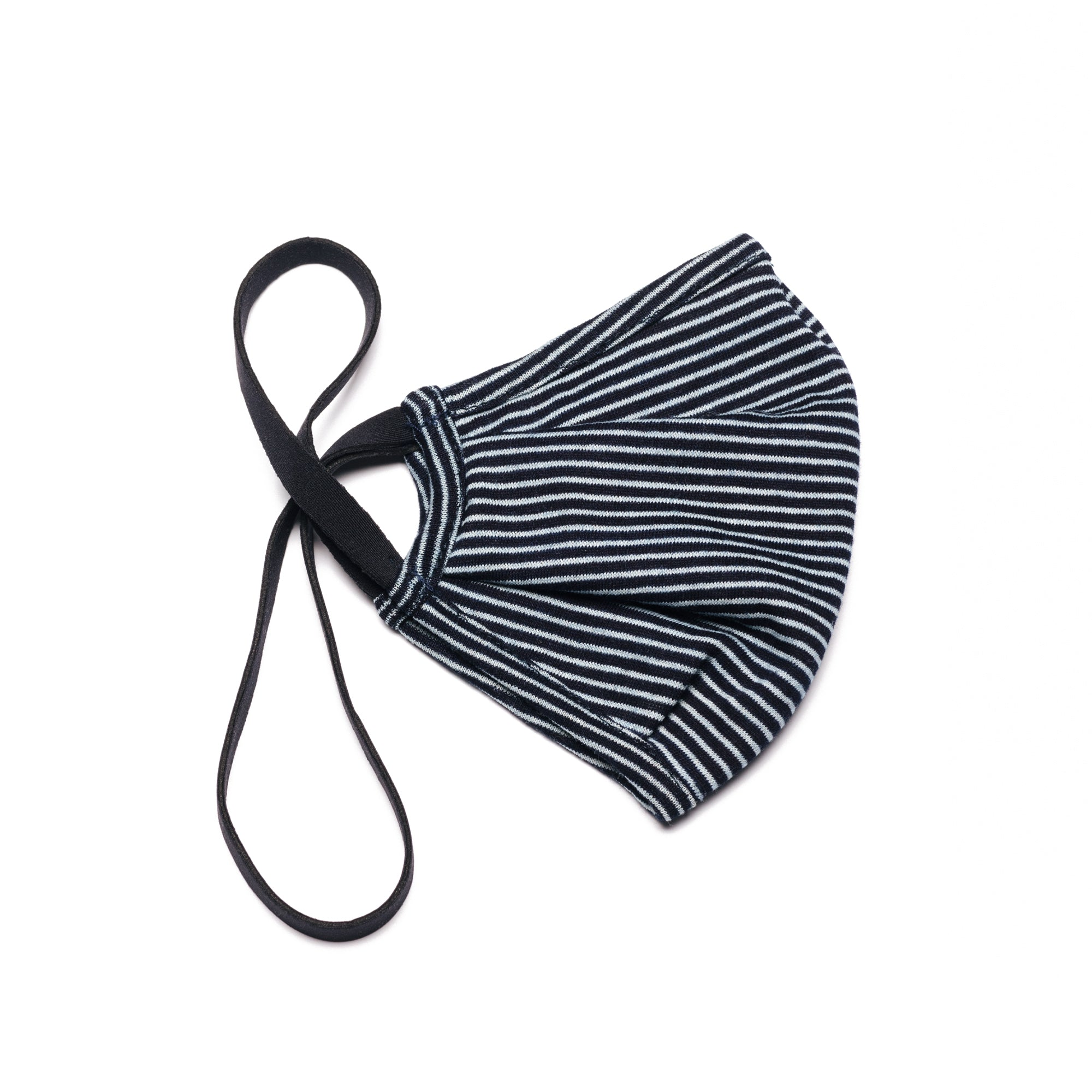 The RUN Mask in Navy Stripe