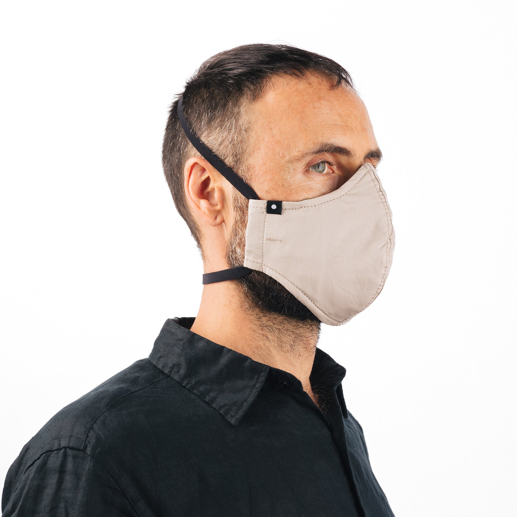 The Curve Mask - Tan w/Neoprene