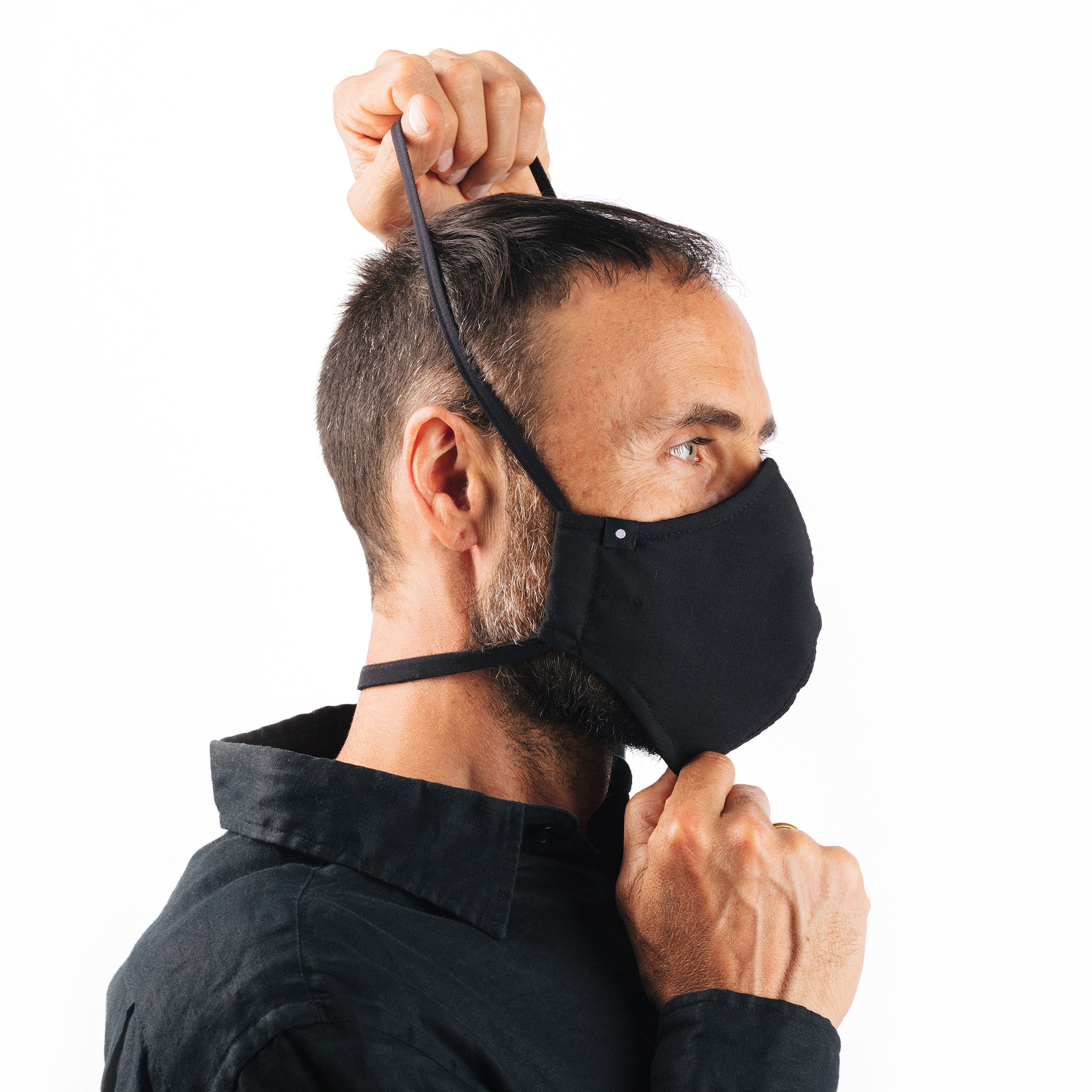 The Curve Mask - Black w/Neoprene