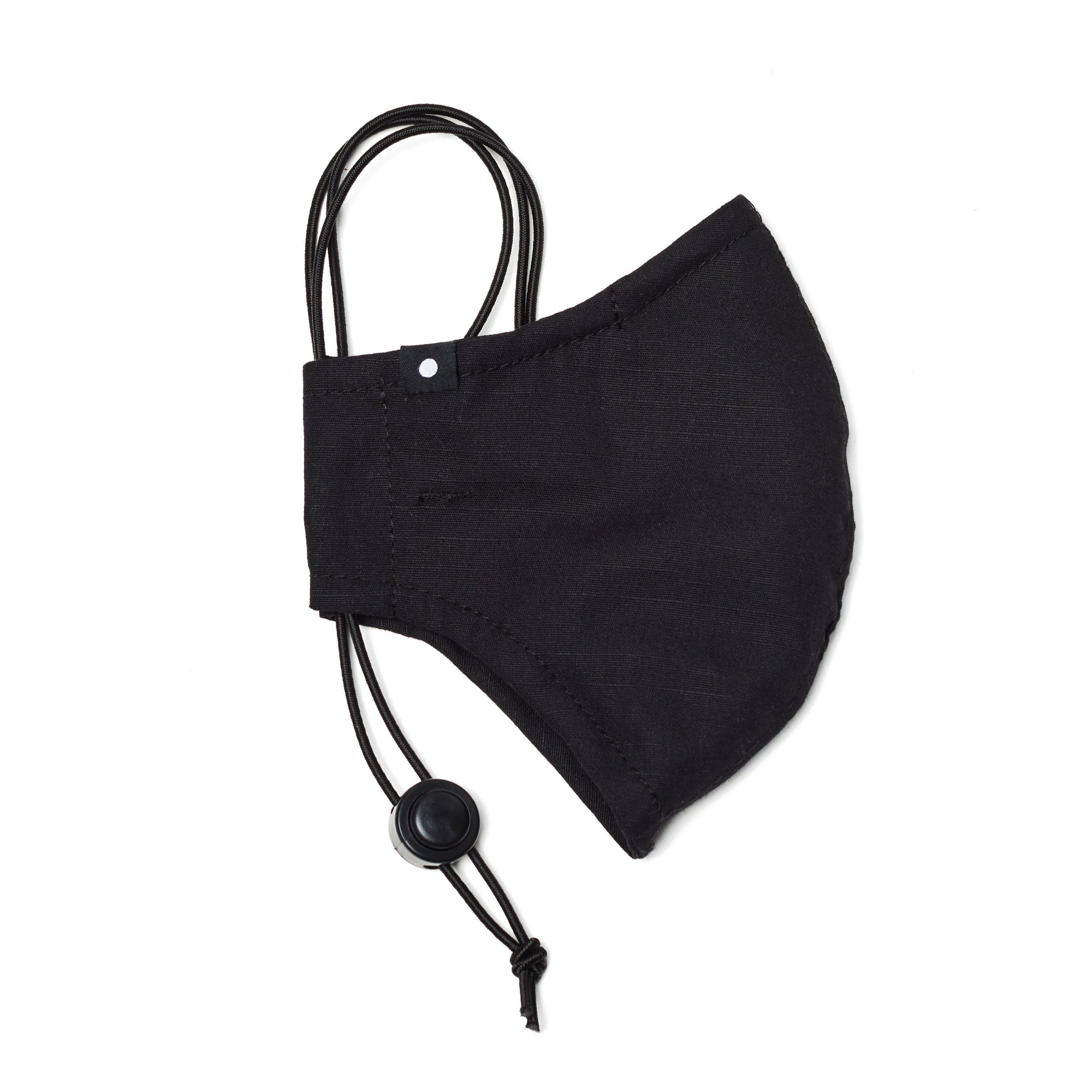 The Curve Mask - Black w/ Nose Wire and Adjuster
