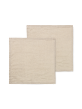 Load image into Gallery viewer, LINEN NAPKINS SET OF 2 sand