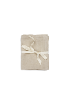 LINEN NAPKINS SET OF 2 sand