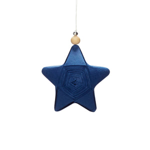 SMALL BLUE PAPER STAR