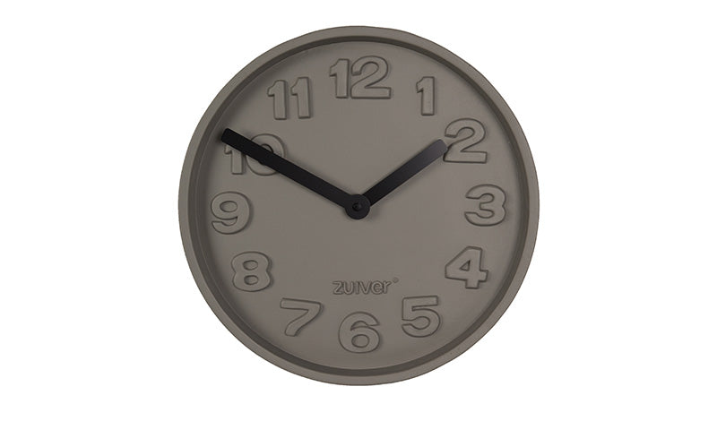 CONCRETE TIME WALL CLOCK