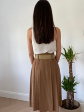 Load image into Gallery viewer, SAFARI CAMEL SKIRT