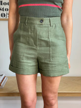 Load image into Gallery viewer, KHAKI SAFARI SHORTS