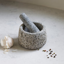 Load image into Gallery viewer, GRANITE PESTLE & MORTAR