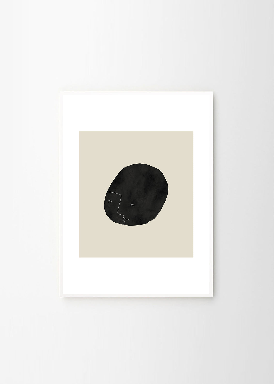 PEBBLE FACE PRINT