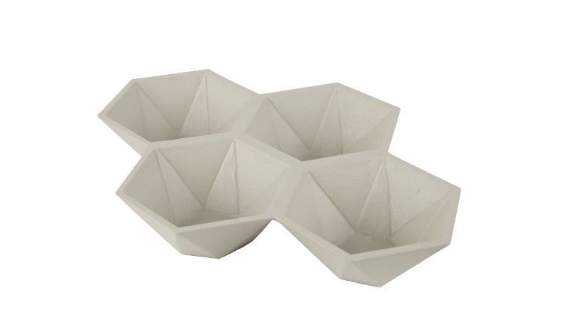 HEXAGON TRAY- SAND