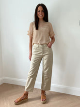 Load image into Gallery viewer, STONE CROPPED TROUSERS