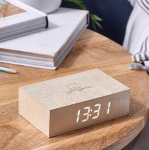 FLIP CLICK CLOCK - WHITE
