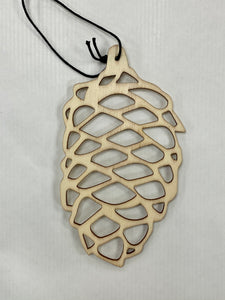NATURAL LASER CUT PINECONE