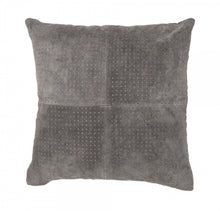 Load image into Gallery viewer, GREY SUEDE CUSHION