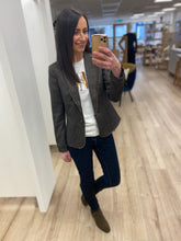 Load image into Gallery viewer, BLAZER TWEED FRINGED