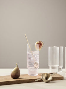 RIPPLE LONG DRINKS GLASSES - SET OF 4