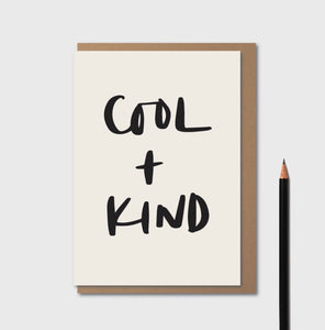 COOL & KIND CARD