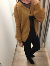 Load image into Gallery viewer, MUSTARD CARDI/ JUMPER