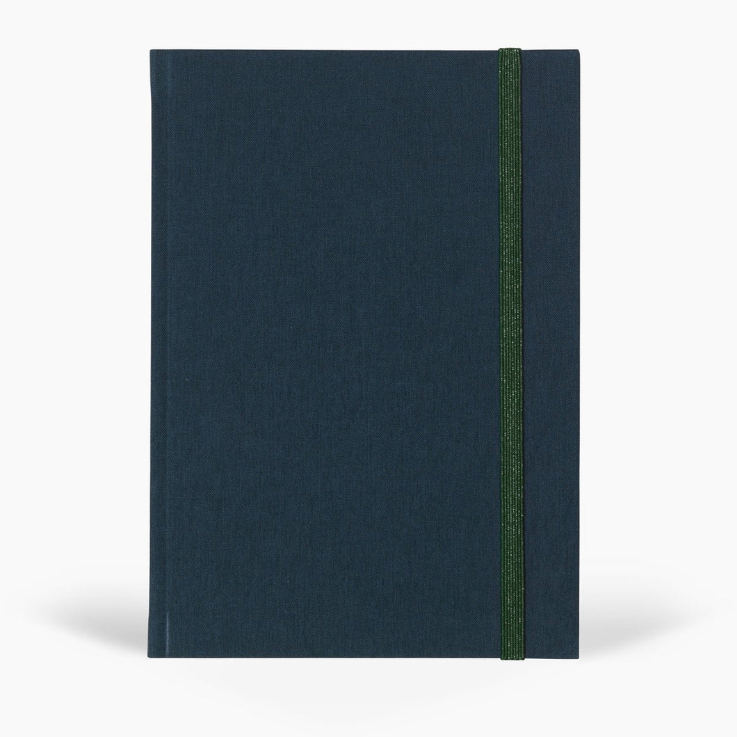 BEA NOTEBOOK - MEDIUM DARK BLUE