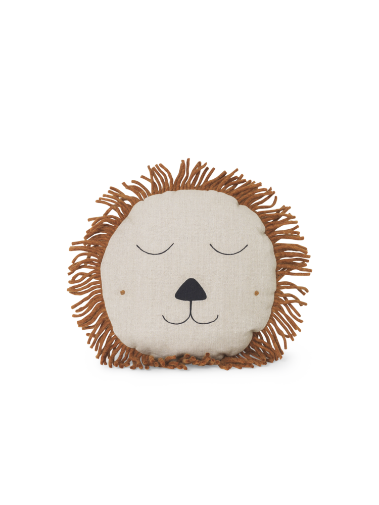 SAFARI CUSHION LION