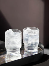 Load image into Gallery viewer, RIPPLE SMALL GLASSES - SET OF 4