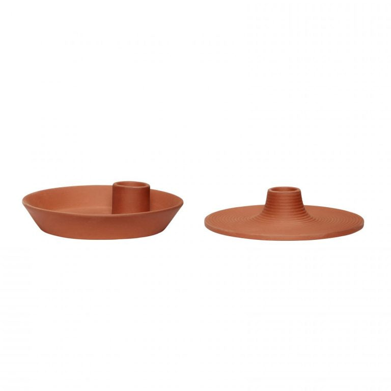 TERRACOTTA TEALIGHT/CANDLE HOLDERS