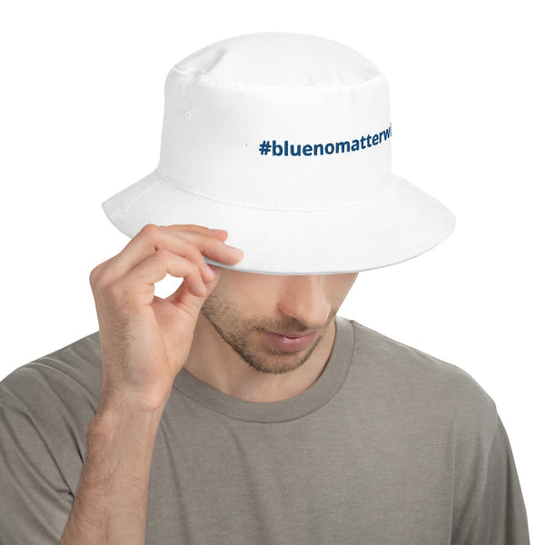 Bucket Hat - #bluenomatterwho