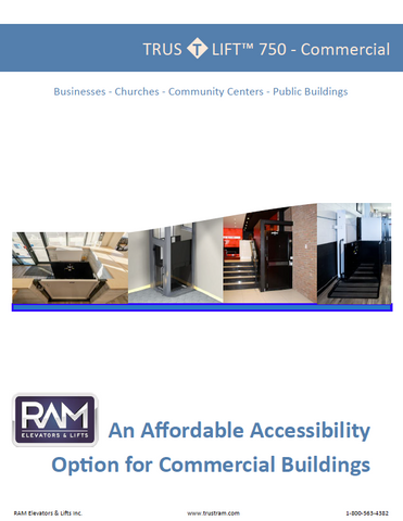 Commercial Wheelchair Lift Brochure