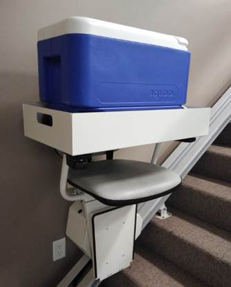 Stairlift Cargo Lift Attachment