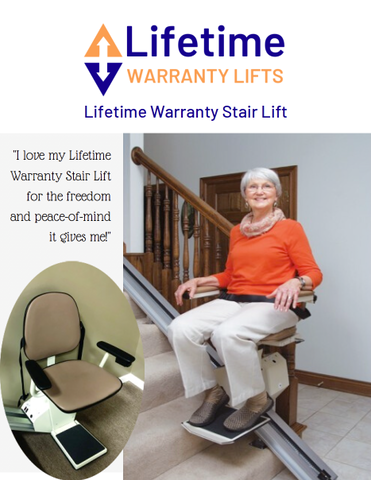 Lifetime Warranty Stair Lift Brochure