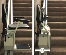 Load image into Gallery viewer, Double Stair Lift Special - 90 Degree Turn Stairway