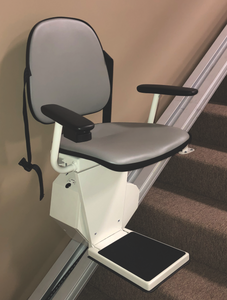 Double Stair Lift Special - 90 Degree Turn Stairway