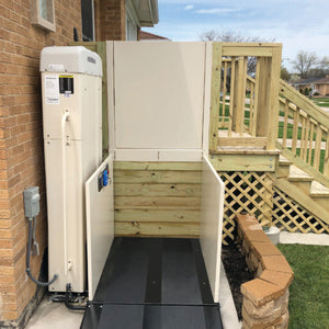 Commercial Wheelchair Lift Up To 171 Inches